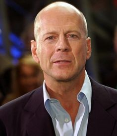 Bruce Willis - Bald is sexy. Minimal maintenance required.