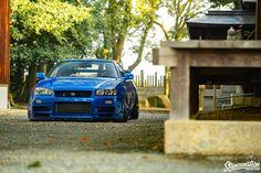The Nissan GT-R holds holy grail status in the car community. The car aptly nicknamed Godzilla from the land of the rising sun has proven itself as a dream Nissan R34, R34 Gtr, Nissan Gtr Skyline, Life Car, Ideal Toys, Japanese Cars, Jdm Cars, Dream Cars, Sedans