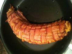 Bacon wrapped bacon...