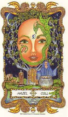 The Faces of WomanSpirit  A Celtic Oracle of Avalon by Katherine Torres, Ph.D.   Hazel, Strong and Wise We salute your guiding light We s...