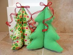 Fabric Christmas Tree Pattern