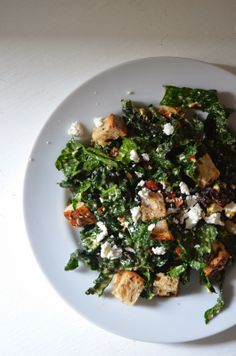 (the best) kale salad.