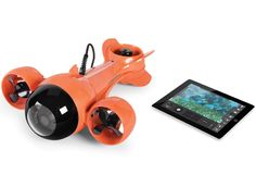 Exploring The Underwater World While Sitting Comfortably In A Boat, iPad In Hand, Has Never Been Easier | OhGizmo!