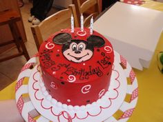 Disney - Mickey Mouse Birthday Party Ideas | Photo 24 of 38 | Catch My Party