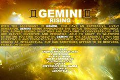 Gemini rising, ascendant, first house. Astrology Rising Sign, Astrology Meaning, Astrology And Horoscopes, Astrology Numerology, Astrology Zodiac, Astrology Signs, Zodiac Signs, Numerology Chart, Cancer Sun Scorpio Moon