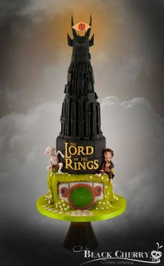 Lord of the Rings Cake « Black Cherry Cake Company