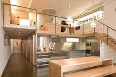 401 Loft Toronto - industrial - Kitchen - Toronto - Alan John Marsh Design & Photography