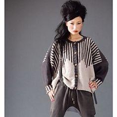 Vogue Knitting - Winter 2009/10 #01 Striped Cardigan
