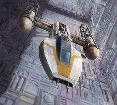 Star Wars: X-Wing Miniaures Game: Jon Vander by `pinkhavok on deviantART