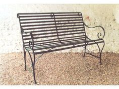 Enjoyable 23 Best Benches Images Bench Garden Iron Bench Gmtry Best Dining Table And Chair Ideas Images Gmtryco