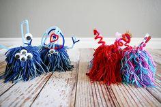 Avec de la laine et du carton, vous pourrez vous aussi réaliser ces adorables monstres de l'amour! - Bricolages - Des bricolages géniaux à réaliser avec vos enfants - Trucs et Bricolages - Fallait y penser !