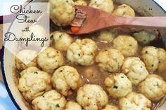 Chicken Stew and Dumplings Recipe