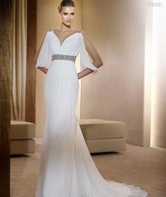 Vestidos de novias elegantes pero sencillos