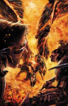 Cyclops #12 - Jean Grey by Alexander Lozano