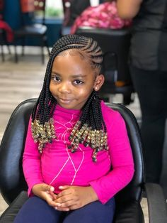 Lil Girl Hairstyles, Old Hairstyles, Natural Hairstyles For Kids, Back To School Hairstyles, Natural Hair Styles, Kid Braid Styles, Kid Styles, Beautiful Black Babies, Braids For Kids