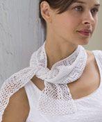 Ravelry: Greek Key Crochet Scarf pattern by Coats Design Team Thread Crochet, Filet Crochet, Crochet Scarves, Crochet Shawl, Crochet Crafts, Crochet Yarn, Crochet Projects, Crochet Clothes, Diy Crafts