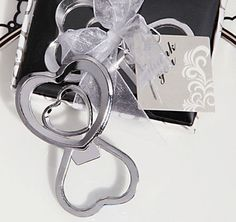The Two Hearts Become One Bottle Opener Is A Practical And Beautiful Favor For Wedding