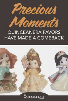 Celebrate one of life's most memorable moments by giving your guests a Precious Moments quinceanera favor. From an under the sea theme to Cinderella themes, Precious Moments has you covered! Quinceanera Party Favors, Quinceanera Planning, Quinceanera Ideas, Cinderella Theme, Under The Sea Theme, Precious Moments Figurines, Comebacks, How To Memorize Things, In This Moment