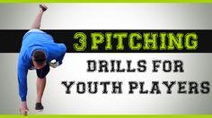 Baseball Pitching Drills for Youth Baseball Pitching Drills for Youth Players Baseball Pitching, Best Baseball Player, Softball Drills, Baseball Series, Baseball Tips, Baseball Quotes, Baseball Training, Baseball Mom, Baseball Videos