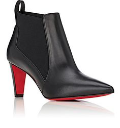 Christian Louboutin Verafusa Leather Ankle Boots - Boots - 504755827