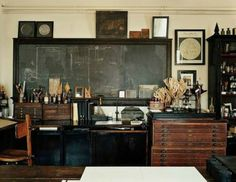 alternate history theme steampunk home office