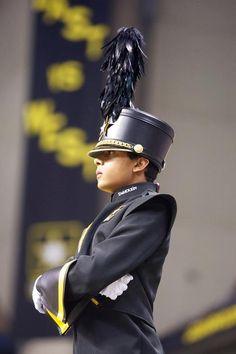 The 2012 @USAAAMB Drum Major, Michael Thompson