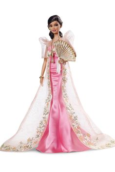 Mutya™ Barbie® Doll the newest of my Philippine Barbie dolls  (2015) by designer Carlyle Nuera