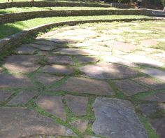 Flagstone Patio.  I took this picture at Cheekwood.