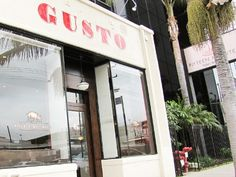 Gusto, 8432 West Third Street in Los Angeles. I'm not even crazy about meatballs, but I'd eat a gazillion of theirs. Everything there is so flavorful, imaginative and yummy.