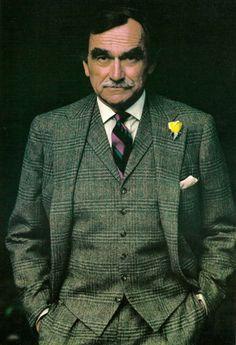 1980s Ralph Lauren ad with Thomas Moore.