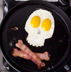 Egg bacon breakfast