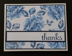 Blue Roses by tlfrank - Cards and Paper Crafts at Splitcoaststampers