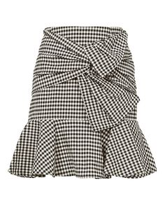 Shop the Veronica Beard Gingham Picnic Box Mini Skirt & other designer styles at IntermixOnline.com. Free shipping +$150.