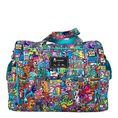 Ju-Ju-Be Be Prepared Tokidoki Diaper Bag - Kaiju City – Blashful