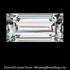 .50 ct. Emerald Cut Lustour Stone | Unique Engagement Rings for Women by Blooming Beauty Jewelry
