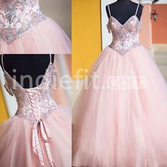 Pink Ball Gown Prom Dress,Long Prom Dresses,Charming Prom Dresses,Evening Dress Prom Gowns on Luulla Prom Dresses Long Pink, Prom Dresses 2017, Prom Dresses For Sale, Formal Dresses For Women, Quinceanera Dresses, Dress Long, Wedding Dresses, Dress Formal, Formal Prom