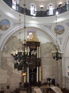 Hurva synagogue Jerusalem old city