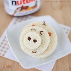 Piggy Sandwich {Edible Crafts for Children}