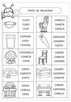 Atividades letra C Prática de leitura