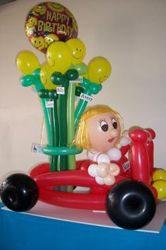 Balloon People Sculptures | Special Characters Balloon People Specialty Balloon…
