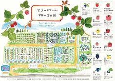 ヤムヤム旅新聞 » ときいろファーム「畑の案内図」