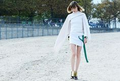JW Anderson -Love the green & gold accent