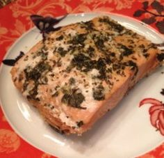 Slow Cooker Salmon with Cilantro and Lime | AllFreeSlowCookerRecipes.com