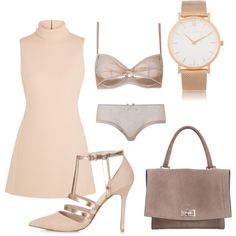 Untitled #14 by acartwrightx on Polyvore featuring мода, Calvin Klein Collection, Agent Provocateur, Topshop, Givenchy and Larsson & Jennings