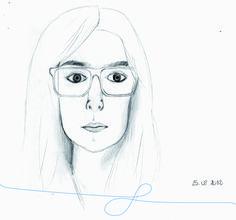 Autoportrait, 1ère tentative