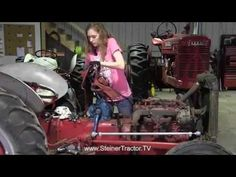 Watch this instructional video demonstrating a complete steering gearbox replacement on a Ford 8n Ford Tractor, Ford Trucks, Trans Am Pontiac, Homestead Farm, Used Ford, Antique Tractors, Tractor Parts, Monster Trucks, Farmer