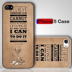 GANDHI The Right State Of Mind Custom iPhone 5 Case Cover