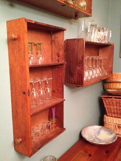 Repurposed dresser drawers *idea for old dresser drawers..
