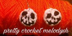Earrings crochet jack