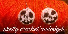 Earrings crochet jack